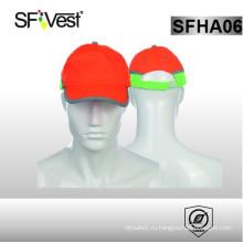 2015 люминесцентные полиэфирные отражающие спортивные шляпы безопасности шляпы