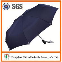Precios baratos!! Fuente de la fábrica plegado paraguas con estuche con manija torcida