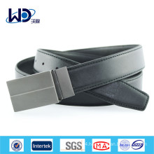Hot Sales Men Genuine Cowhide Leather Belt with Pin Buckle