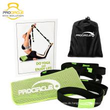 Procircle Yoga Strap zum Dehnen mit Loops mit Bambus Cooling Towel