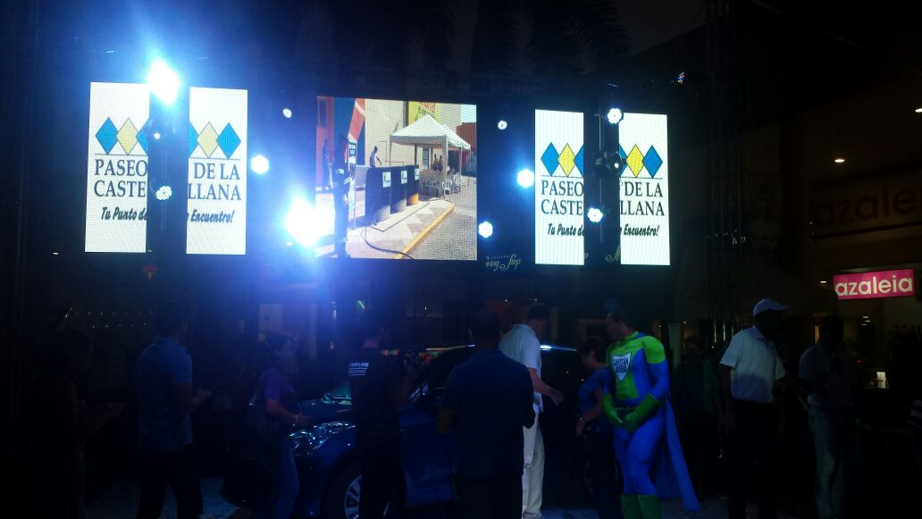PH4.8 LED Display for rental