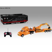 Quatre jouets de camion de R / C de fonction avec la lumière pour des enfants