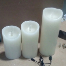 柱状のFlameless Cheap Led Candles