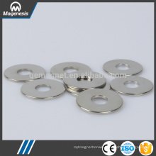 Factory wholesale environmental ndfeb magnet countersunk hole