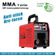 Macchine per saldatura ad arco l'adatta E6010 cellouse elettrodi MMA 200A