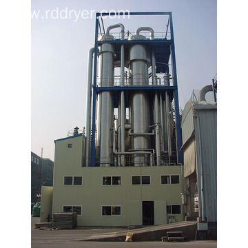 evaporator for wastewater treatment