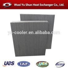 Núcleo de aluminio del refrigerador de aceite del OEM vendedor caliente para la máquina