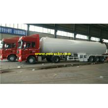 50 CBM 20 tấn Bulk LPG Trailers Chở hàng