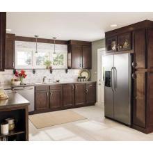 L Shape Wholesale Solid Wood Kitchen Cabinet
