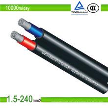 PV1-F 10мм2 кабель постоянного тока для солнечных батарей Утвержденный TUV / UL кабель для солнечных панелей