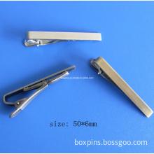 Blank Silver Tie Clips Tie Bar Blank