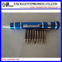 Promoção bolso alumínio chave de fenda ferramenta caneta (EP-TS8124)