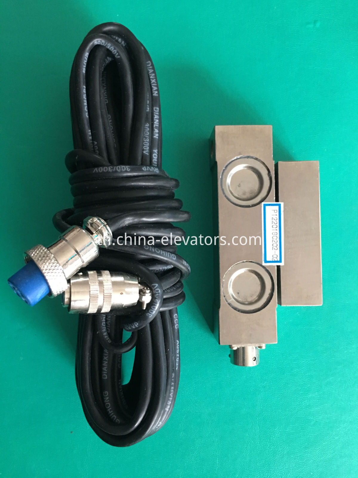 Load Weighting Device for Shanghai Mitsubishi Elevator Rope Fastening W22-1T | W22-3T