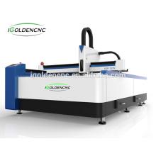 1530 Arbeitsgröße 300w \ 500w \ 750w \ 1000w Faserlasermaschine für Metall