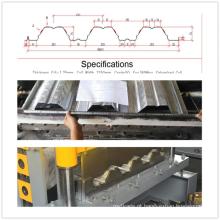 75 rolamento de folha de plataforma profunda formando máquina