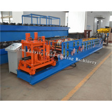 C+Channel+Forming+Machine+With+Punching+Device