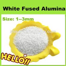 Material refractário 1-3 mm de areia de alumina fundida branca