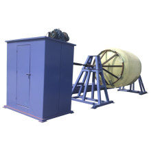 Máquina de bobinado de tubos y recipientes FRP