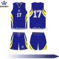 Jerseys de práctica de baloncesto de tela de malla transpirable