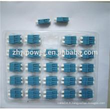 Adaptateur de fibre optique / adaptateurs lc / lc adaptateur femelle fem