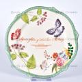 New fashionable porcelain dinner set luxury ceramic dinnerware sets
