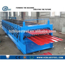 Corrugated Sheet Double Layer Roof Roll Forming Machine, Roof Panel Sheet Forming Machine