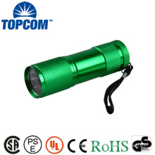 Infrared 625nm 850nm IR Invisible Light Flashlight Aluminum 6 LED 9 LED Infrared Flashlight
