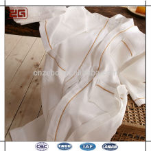 Shawl Collar Estilo Waffle 100% Algodão Hotel Kimono Robe