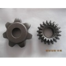 Moulage d'acier au carbone pour déchiqueteuse et équipement