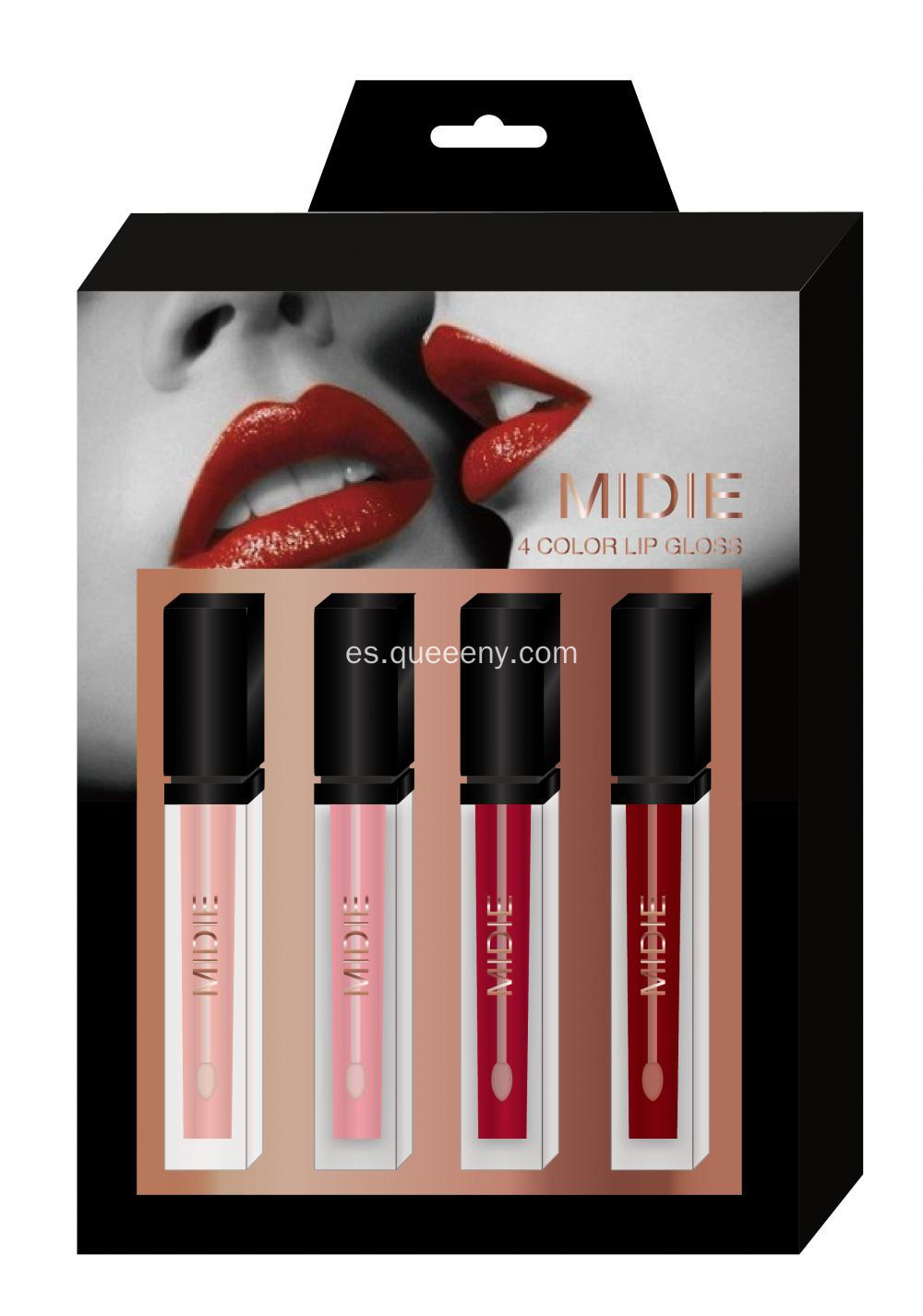 Brillo de labios de color 4