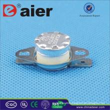 Ceramic Material KSD301 Thermostat(250V/10A) 50 ~ 180 Degree KSD301-OF2 Circuit Breaker With Big Collar