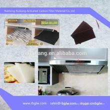 Herstellung Aktivkohle Küche Abluftventilator Filter
