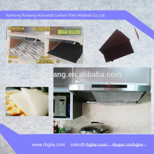 fabricación de filtro de ventilador de extracción de cocina de carbón activado