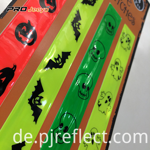Reflective Halloween Children Safety Stickers With 4 Pcs Rs Hlw001