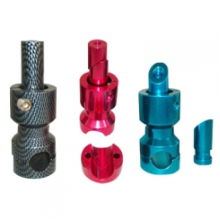 Custom Fabrication Aluminum Colored Bicycle Parts