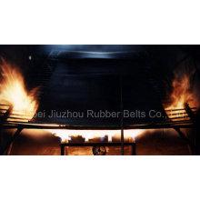 Огонь резиновыми Resitant ленточный конвейер
