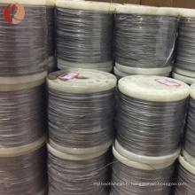 fil de tungstène de haute pureté dans la bobine à vendre avec le meilleur prix