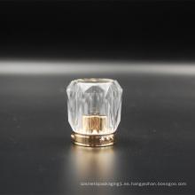 Tapa de acrílico diamante para tubo cosmético D40mm