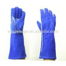 Sunnyhope bon marché de travail en cuir soudure gants de sécurité
