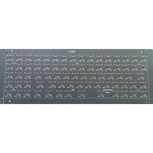 2 layer 1.6mm matt black ENIG  keyboard PCB