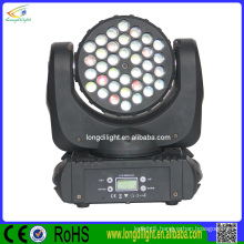 hot 36x3W RGBW led moving head beam light/led stage light for event party