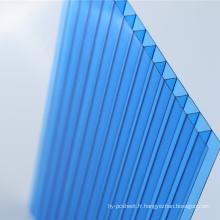 Feuille de toiture de lucarne de feuille de Multiwall de feuille de polycarbonate (OEM disponible)