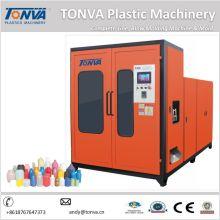 Maquinaria de plástico de doble estación de la máquina de moldeo de soplado de botella de 5L