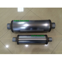 4′′ Body Round Car Muffler with 409 Stainless Steel Polished or Unpolished