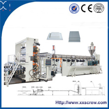 PE / PVC Micro Foam Board Extrusion Machinery