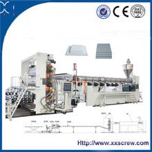 Machines d'extrudeuse de panneau de mousse de PE / PVC