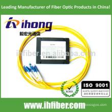 FBT 1*4 fused fiber optic splitter LC Connectors