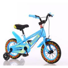Princess 16 pouces enfant vélo / pas cher prix vélo enfants / enfants jeune fille 4 roue vélo avec Landau de poupée