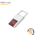 Hochwertiges Arabesquit Leder Matel Keychain (Y03681)