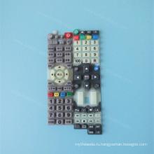 Изготовленный На Заказ Печатание Silkscreen Клавиатуры Силиконовой Резины